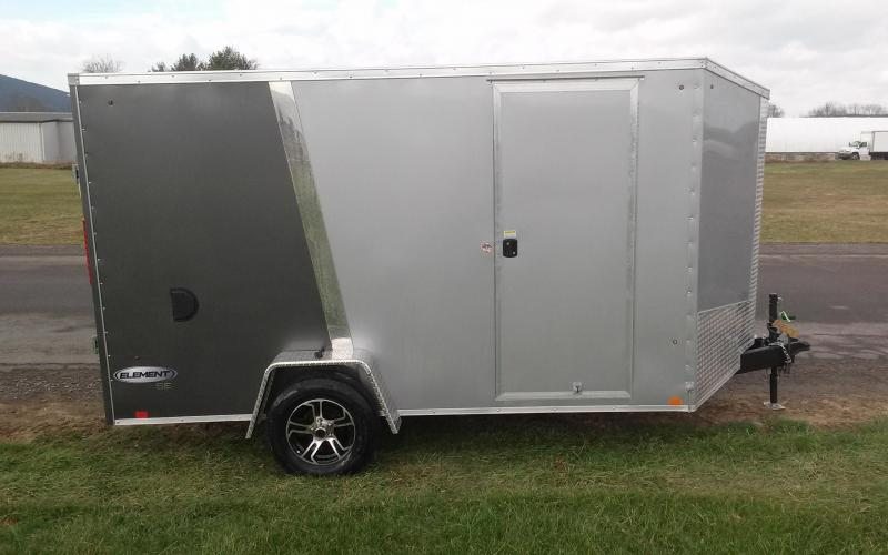 2018 Look Trailers 7x12 Element SE Enclosed Cargo Trailer