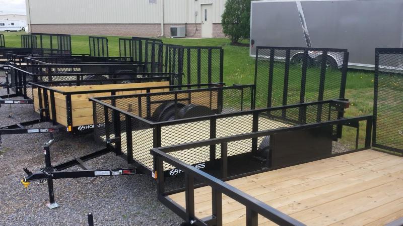 2018 Holmes 6-4x10 Mesh Side Utility Trailer