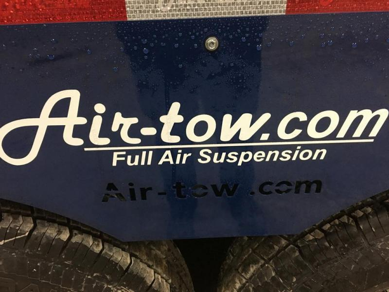 2017 Air Tow 6x10 Drop-Deck Air Ride Utility Trailer
