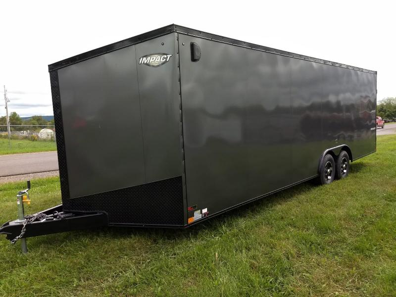 2019 Impact Trailers 8.5x24 10K Slant Nose Car / Racing Trailer in Ashburn, VA