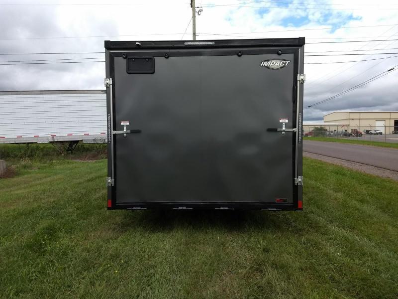 2019 Impact Trailers 8.5x24 10K Slant Nose Car / Racing Trailer