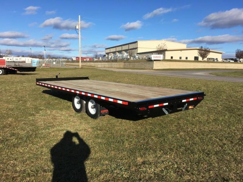 2018 Midsota 8-5x20 Nova Wood Deckover 10K Flatbed Trailer