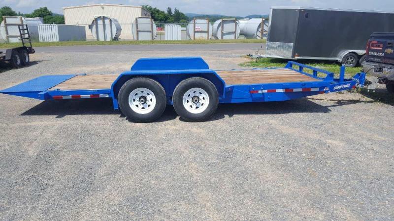 2018 Sure-Trac 7x18 tilt equipment trailer -14k -LED