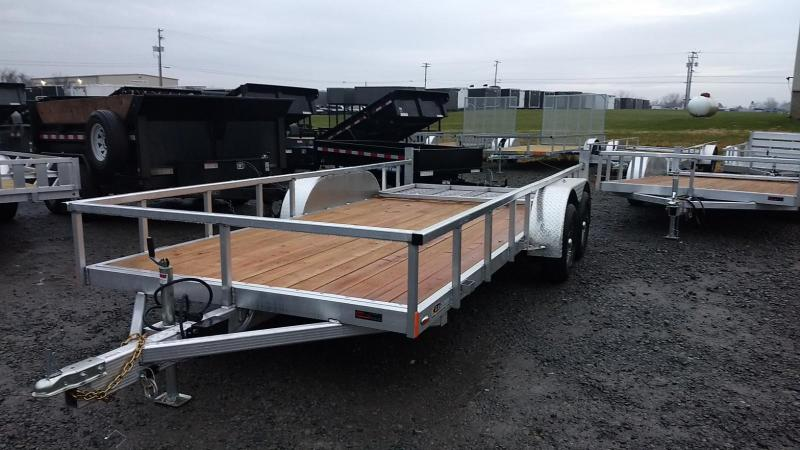 2019 Legend Manufacturing 7x16 Aluminum Utility Trailer in Ashburn, VA