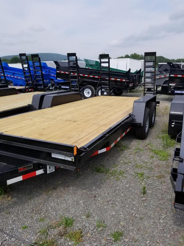 2019 Holmes 6-10x20 10K Equipment Hauler Equipment Trailer