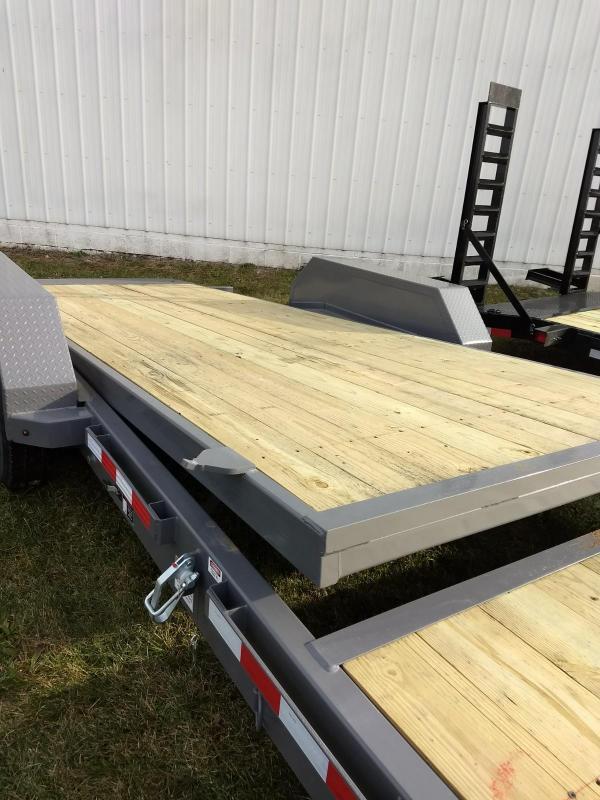2018 Midsota 7x18+6 17.6K tilt deck Equipment Trailer