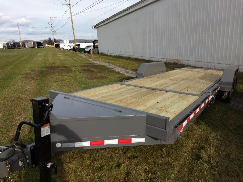 2018 Midsota 7x18+6 17.6K tilt deck Equipment Trailer in Ashburn, VA