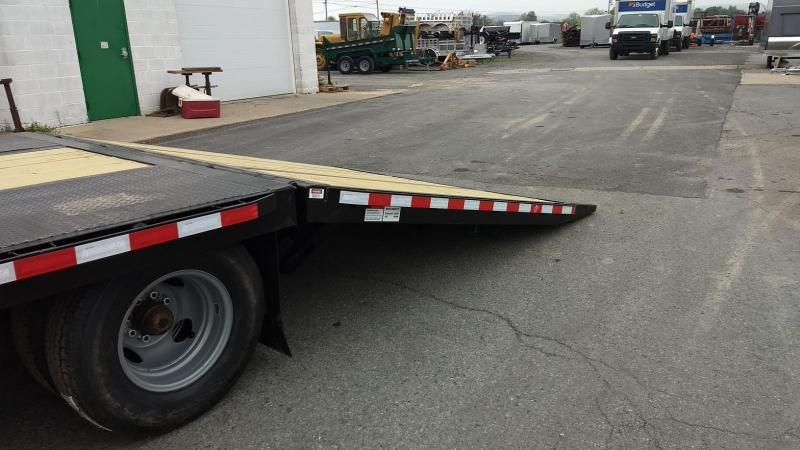 2019 Midsota FB32-GN Gooseneck Power Beavertail Flatbed Trailer