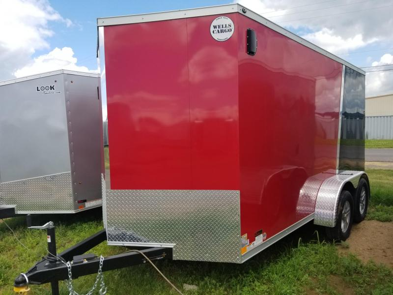 2018 Wells Cargo 500 Series 7x14 Enclosed Cargo Trailer
