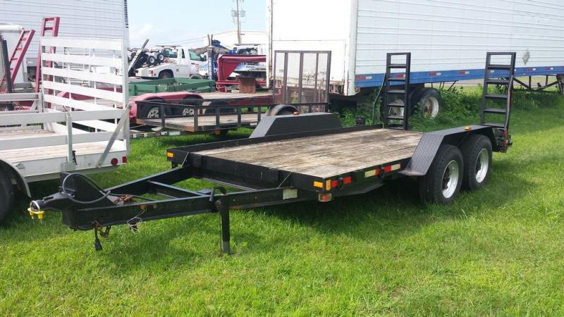 1998 Hudson 6.5x14 Equipment Trailer in Pittsburg, NH
