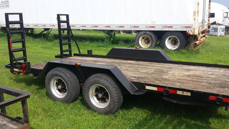 1998 Hudson 6.5x14 Equipment Trailer