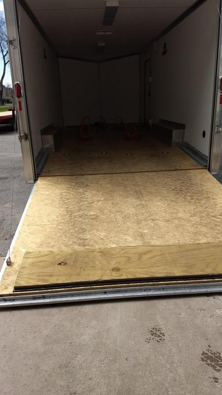 2015 Legend Manufacturing 8.5x22 aluminum car hauler - loaded -10k
