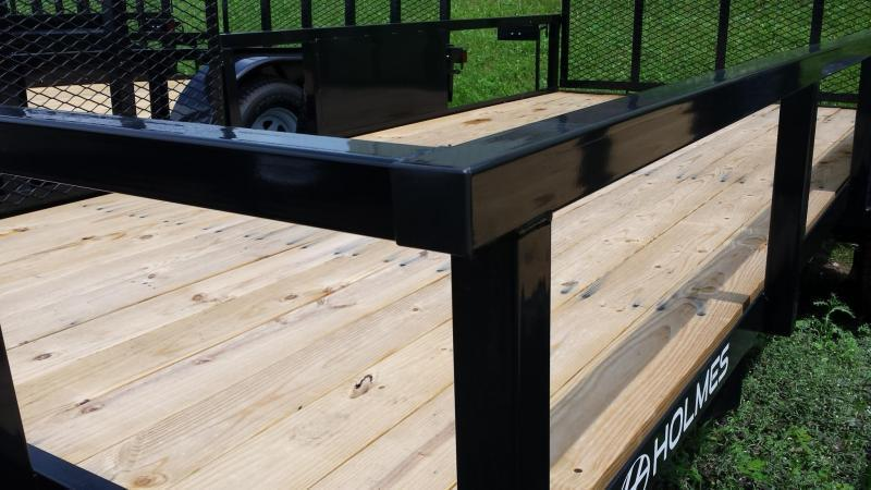 2018 Holmes commercial 6-4x12 utility trailer -side ramp -3.5k -LED