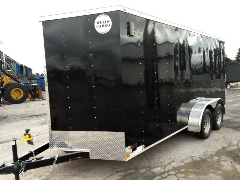 2019 Wells Cargo 300 Series 7x16 Enclosed Cargo Trailer