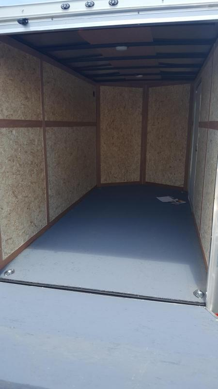 2018 Wells Cargo 500 Series 6x12 Enclosed Cargo Trailer