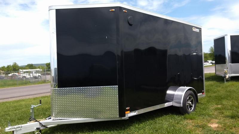 2019 Legend Manufacturing 7x15 all aluminum Enclosed Cargo Trailer