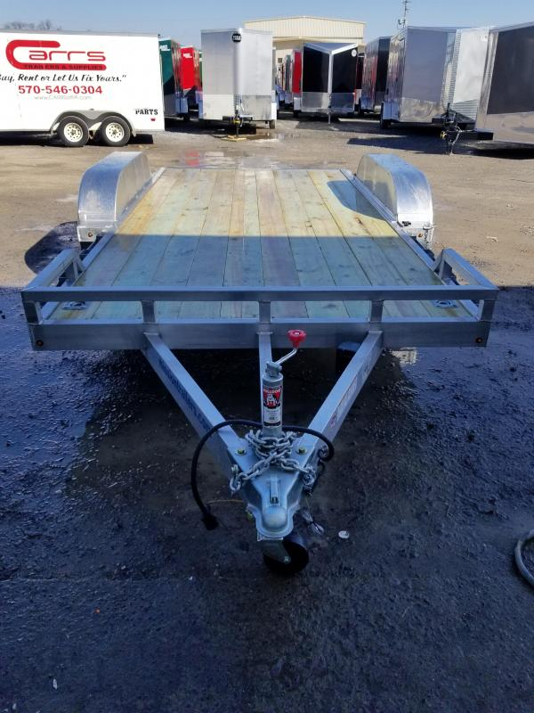 2018 Mission MOCH 8x16 7K 2.0 Aluminum Car / Racing Trailer