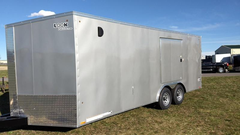 2020 Look Trailers 8.5x20 10K Cargo/Enclosed Trailer