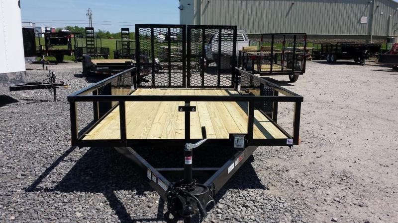 2019 Holmes 6-10x14 7K Commercial Landscapers Utility Trailer