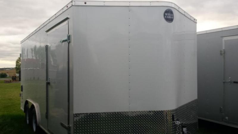 2016 Wells Cargo 8.5x16 Fast Trac Enclosed Cargo Trailer