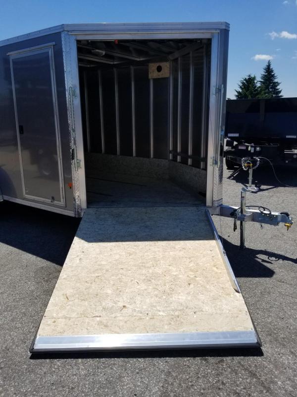 2018 Mission EZES 7x14+4 Enclosed Snowmobile Trailer