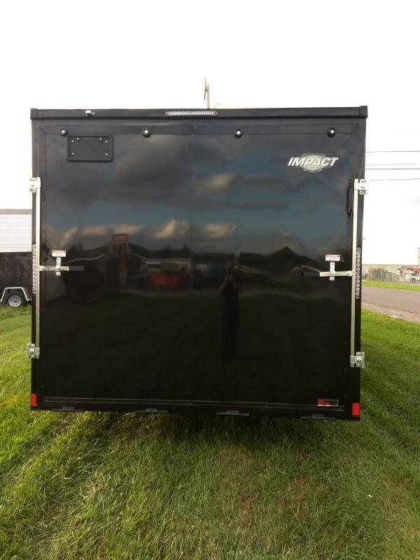 2019 Impact Trailers 8.5x24 10K Slant Nose Car / Racing Trailer