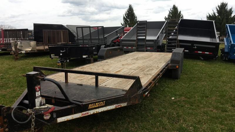 2013 Belmont Machine 20 14K Equipment Trailer in Ashburn, VA
