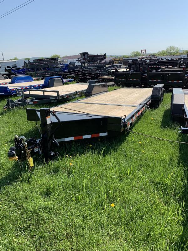 2019 Midsota 7x18+6 15.4K tilt deck Equipment Trailer