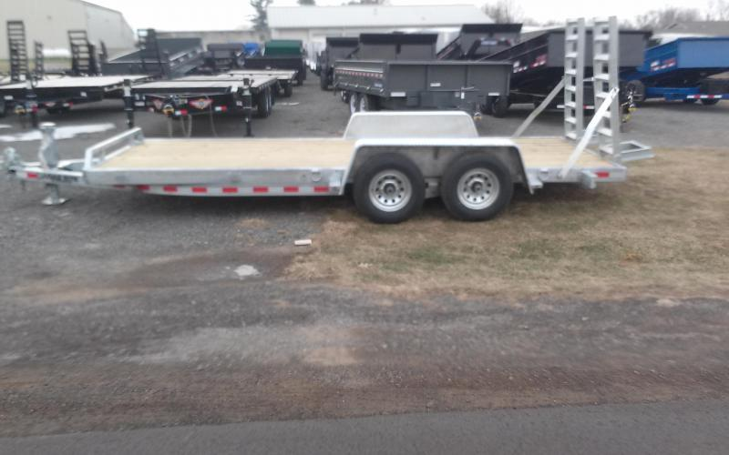 2018 Load Rite 6-10x18 10k galvanized Equipment Trailer in Groveton, NH