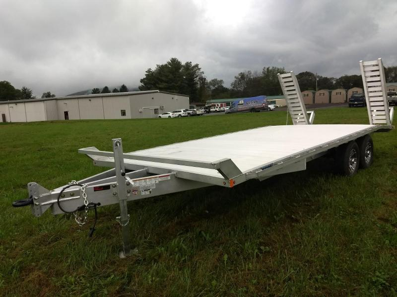 2019 Mission 8x20 10k Aluminum Equipment Trailer in Pittsburg, NH
