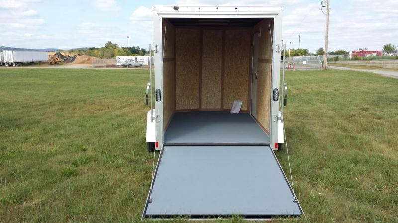 2017 Wells Cargo 6x10 Fast Trac Enclosed Cargo Trailer