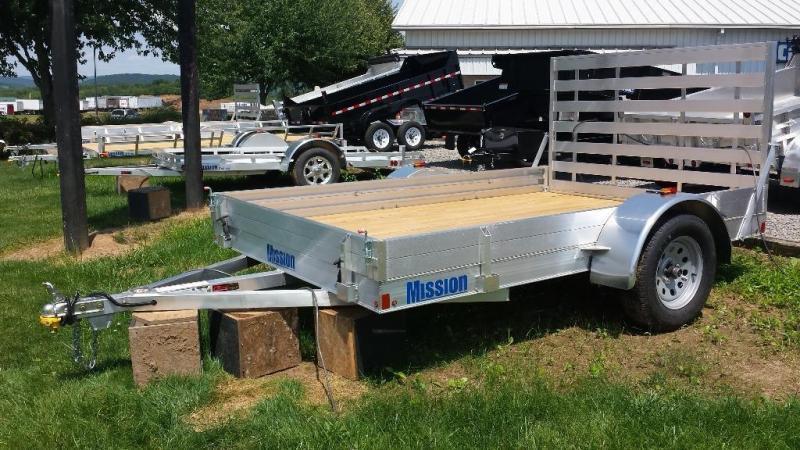 2018 Mission aluminum MU 80x10 DLW utility trailer -LED -3.5k in Ashburn, VA