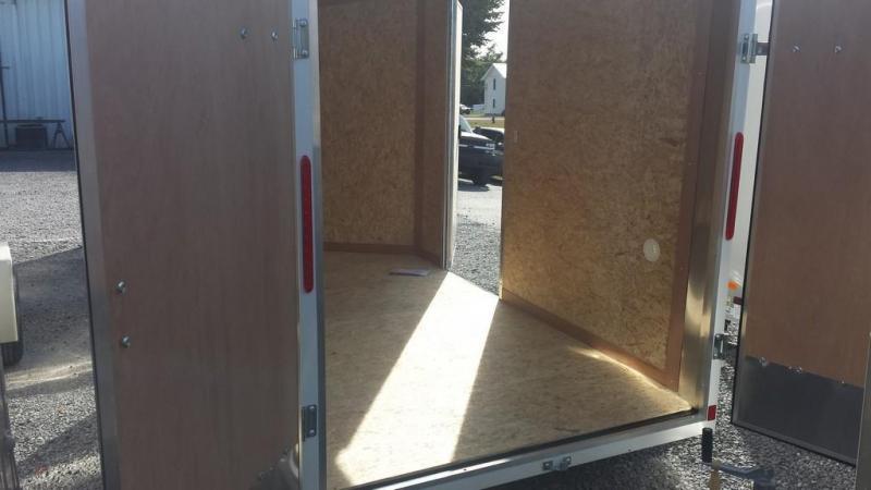 2017 Look Trailers 6x10 Element SE Enclosed Cargo Trailer