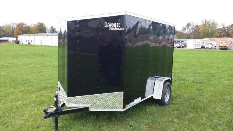 2018 Look Trailers 6x10 ST DLX Enclosed Cargo Trailer