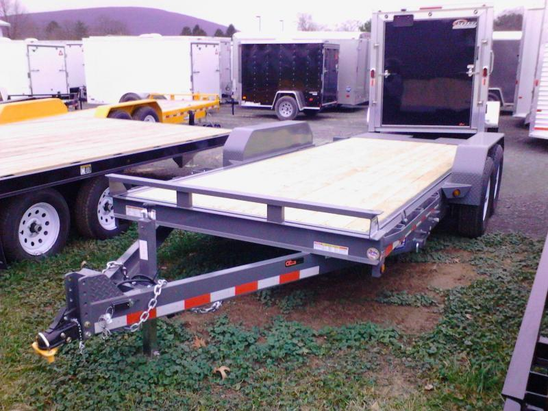 2018 Sure-Trac 7x18 tilt deck Equipment Trailer in Pittsburg, NH