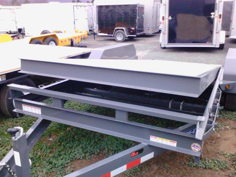 2018 Sure-Trac 7x18 tilt deck Equipment Trailer