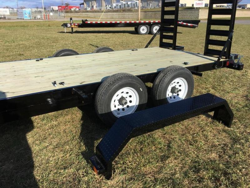 2017 Midsota 7x16 Nova 10K Equipment Trailer