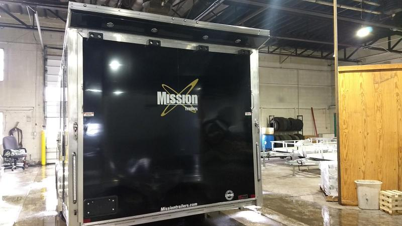 2019 Mission 8.5x24 Pinnacle Premium Car / Racing Trailer