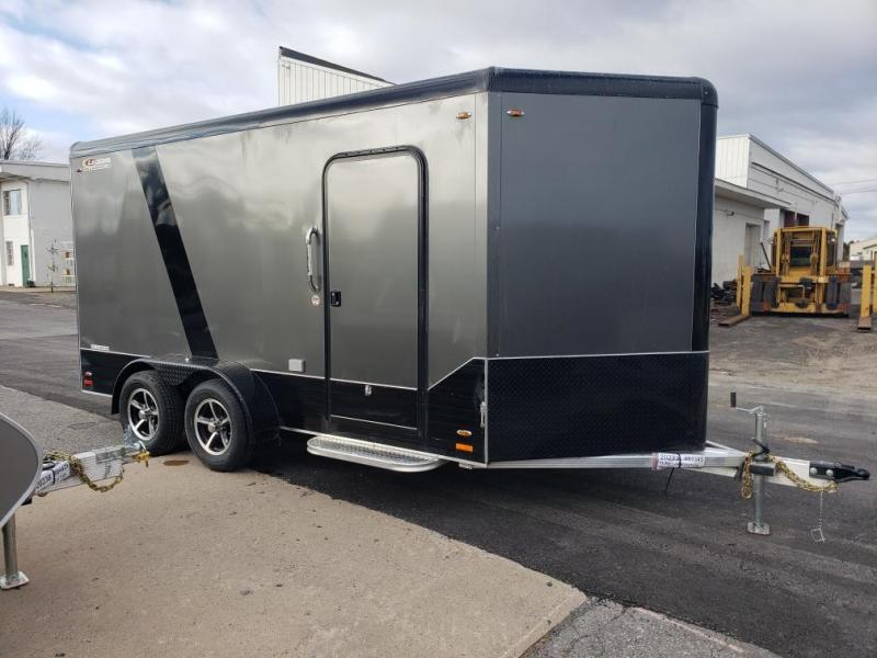 2019 Legend Manufacturing 7x17 all aluminum Enclosed Cargo Trailer