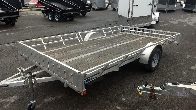 2015 Mission 83x14 ATV Trailer