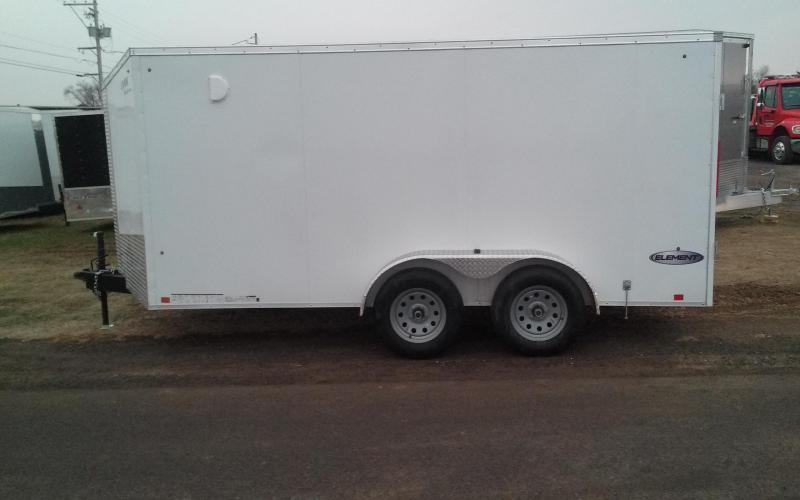 2018 Look Trailers 7x14 Element SE Enclosed Cargo Trailer in Ashburn, VA