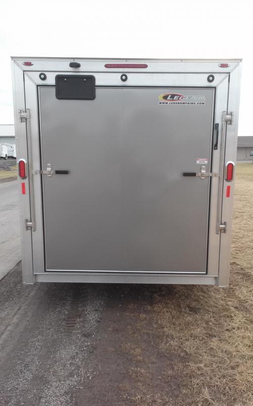 2018 Legend Manufacturing 7x15 all aluminum Enclosed Cargo Trailer