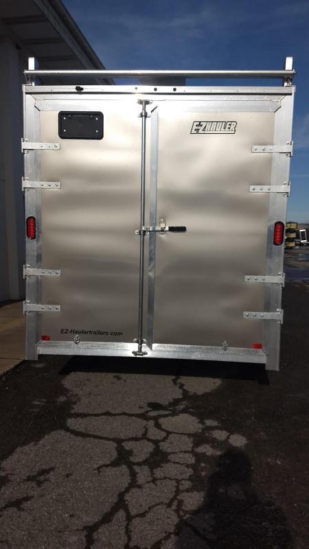 2019 Mission 7x16 all aluminum Enclosed Contractor Trailer