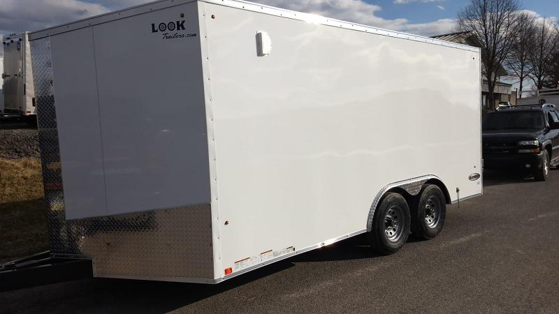 2020 Look Trailers 8.5x16 7K Cargo/Enclosed Trailer