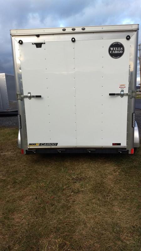 2019 Wells Cargo 300 Series 7x12 7K Enclosed Cargo Trailer