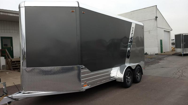 2018 Legend Manufacturing 7x17 all aluminum Enclosed Cargo Trailer