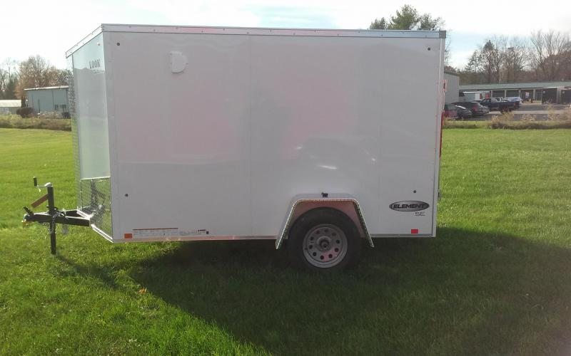 2018 Look Trailers Element SE 6x10 Enclosed Cargo Trailer