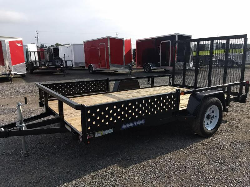 2019 Sure-Trac 7 X 12 Tube Top ATV Trailer