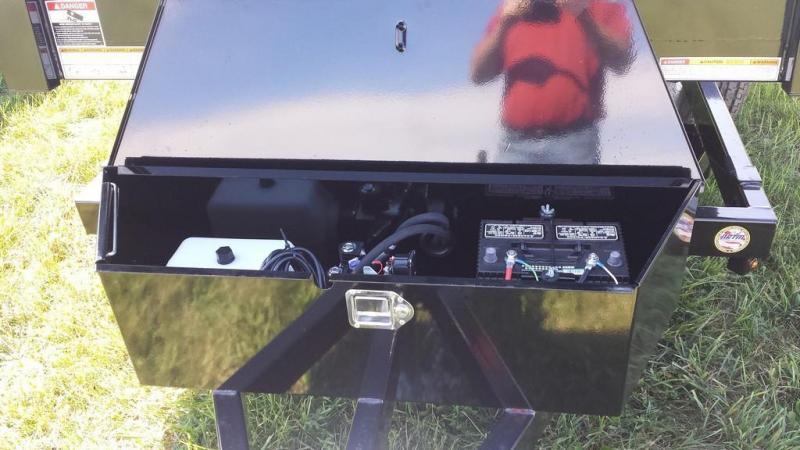 2017 Sure-Trac 5x8 Low Profile Dump Trailer