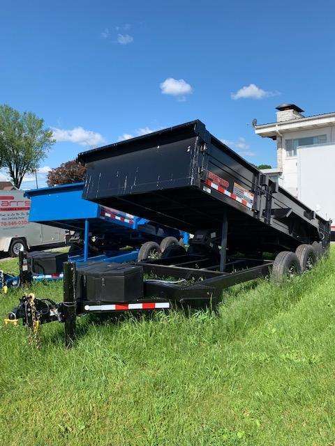 2019 Midsota 7X16 HV-16 15.4K Dump Trailer in Ashburn, VA